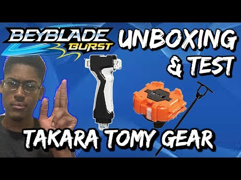 Video Beyblade Burst Unboxing and Test (Takara Tomy Long Winder and Launcher Grip) download in MP3, 3GP, MP4, WEBM, AVI, FLV January 2017