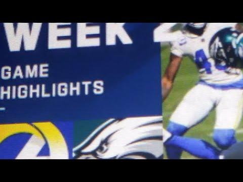 Rams@Eagles Week 2 highlights
