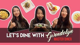 4 Culinary Adventures in 150s! Watch as our Master Diner Gwendolyn (Oo-foodielicious) indulge in a variety of home-cooked food ...