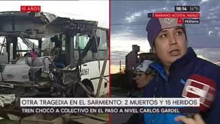 Otra tragedia en el Sarmiento