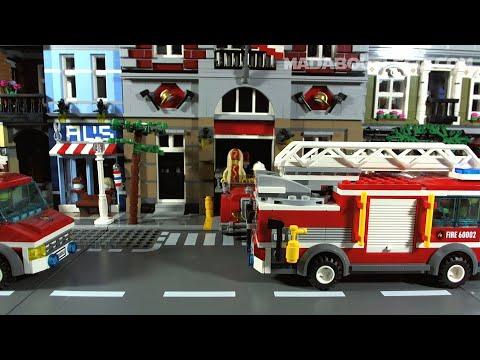 Vidéo LEGO Juniors 10680 : Le camion poubelle