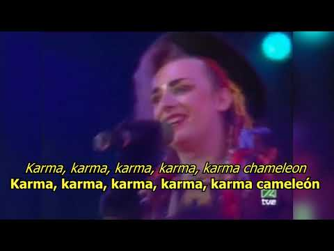 Karma Chameleon - Culture Club (LYRICS/LETRA) [80s]