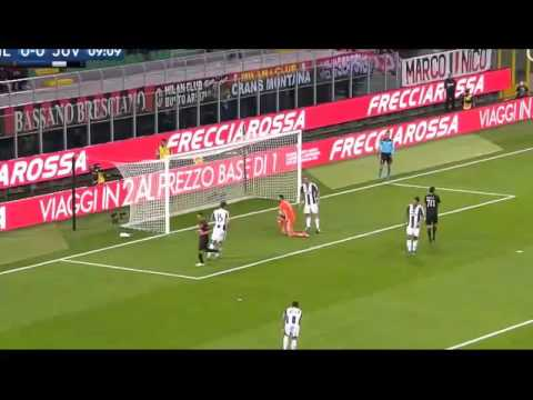 Milan 1-0 Juventus Calcio Highlights And Goals 23 Oct. 2016