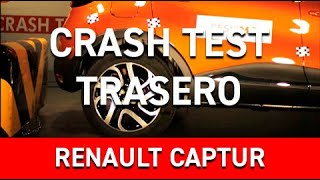 Crash Test Trasero Renault Captur
