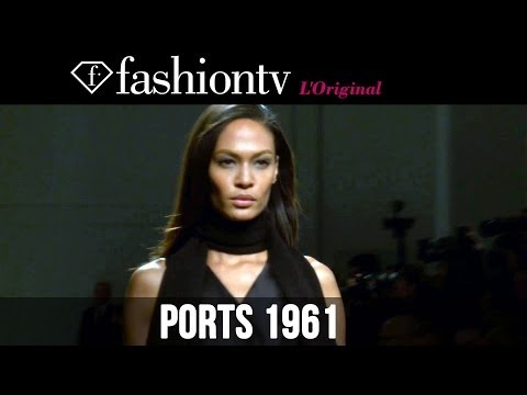 Fashion TV - http://www.FashionTV.com/videos MILAN - FashionTV is at the Ports 1961 show during Milan Fashion Week. This season, designer Fiona Cibani played heavily on c...