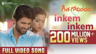 Video Inkem Inkem Full Video Song | Geetha Govindam | Vijay Deverakonda, Rashmika, Gopi Sunder MP3, 3GP, MP4, WEBM, AVI, FLV Oktober 2018