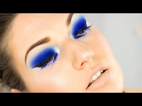 Electric Blue và xu hướng trang điểm