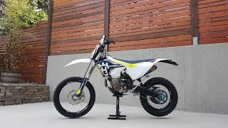 9. 2017 FE501 Husqvarna Build Review Modifications & FMF 4.1 Exhaust test