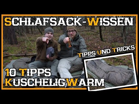 Top 10 Schlafsack für Anfänger/Neueinsteiger  - Outdoor Bushcraft Deutschland