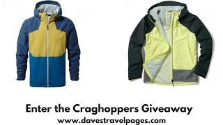 How would you like the chance to win a Craghoppers Apex Waterproof jacket? Closes April 14th 2017. Find out more: http://www.davestravelpages.com/craghoppers-giveawayGiveaway is not associated with YouTube.Rules:Craghoppers Giveaway Terms and ConditionsEntrance to the giveaway is free, and no purchase is needed.Entrants must be 18 years of age or older.Entry is open worldwideUse of a false name or email address may lead to disqualificationGiveaway closes on 14th April 23:59 2017Winners will be selected at random, and notified within 7 days of the giveaway close.Winners will be contacted by emailIf the winner does not respond by email within 4 days, a replacement winner may be chosen in their place.Prize is non-transferable and non-refundable.Prizes are non-returnable, and that the prize is subject to availabilityThe winner's details will be passed on to Craghoppers who will be organise the postage of the prize.By entering, the entrant agrees that the information entered may be shared between Dave's Travel Pages and Craghoppers.Automated or 'bot' entries may be voided.Entrants to the competition agree to be bound by these terms and conditions.