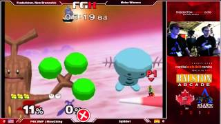 M2K vs Sqiddwr Smash New Brunswick, Sqidwrr performs a Slowpoke Combo on Pokefloats (starts at 3:14)