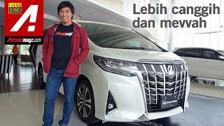 Download Video Toyota Alphard Facelift 2018 First Impression Review by AutonetMagz MP3 3GP MP4
