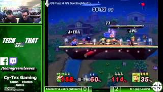 /u/MegaSnack gave me Sonic tips to play better. Grand final doubles I applied it.