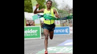 Paris Marathon 2014 - Bekele Breaks Paris Course Record With 2:05:03 On Marathon Debut