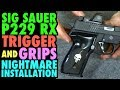 Sig P229 Rx Custom Trigger Amp Grip Nightmare Installation