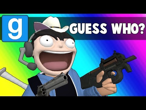 Gmod Guess Who Funny Moments - They Have Guns Now?!  (Garry's Mod) (видео)