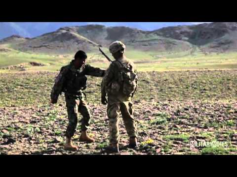 grenades - Afghan soldiers are taught how to handle fragmentation grenades.