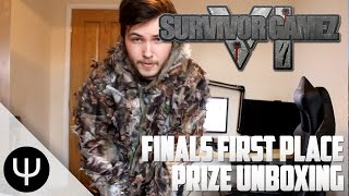Survivor GameZ VI Finals First Place Prize Unboxing!