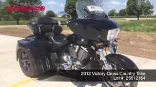 9. 2012 Victory Cross Country Trike, Lot 25812164