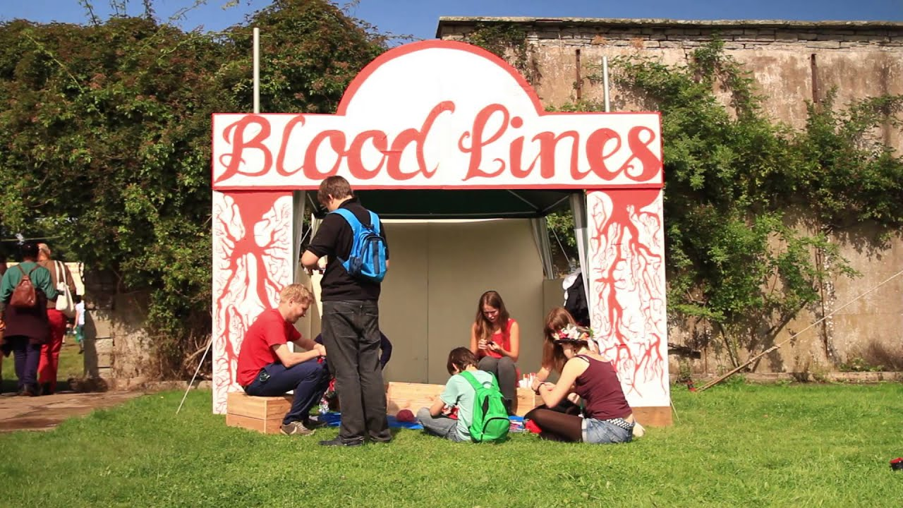 Blood Lines in Einstein's Garden at Green Man Festival