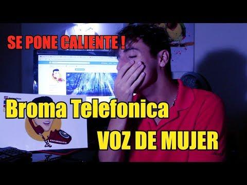 Broma Telefonica a JOVEN CALIENTITO  ! - VOZ DE MUJER !!