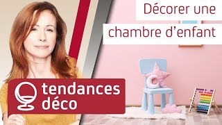 Décorer une chambre d'enfant - tous les conseils de Sophie Ferjani ! - YouTube