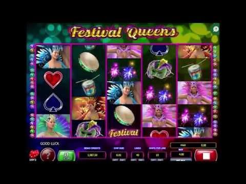 FESTIVAL QUEENS +BONUS GAME! +WIN! online free slot SLOTSCOCKTAIL microgaming