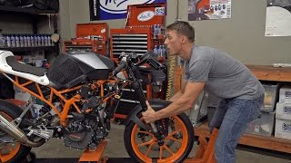 4. How To Check And Adjust Your Motorcycle Steering Head Bearings  | MC GARAGE
