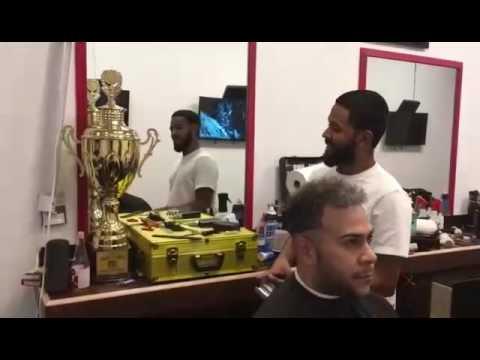 Hondureño gana el primer lugar en concurso internacional de barbería en Washington
