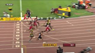 Usain Bolt wins 100m final - World Championships