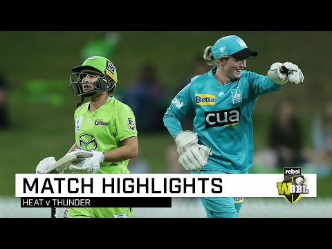 Reigning WBBL champions overpower Thunder | Rebel WBBL|05