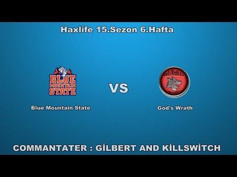 haxlife 15.Sezon 6.Hafta : Blue Mountain State vs God's Wrath