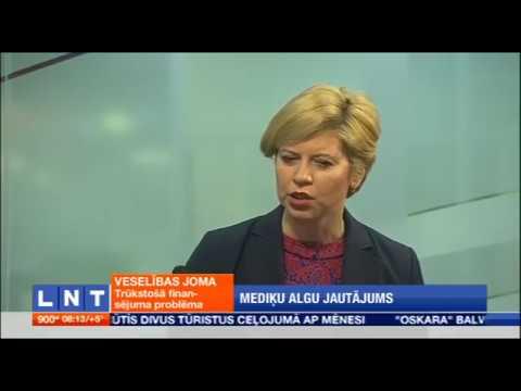 """Veselības ministres Andas Čakšas intervija LNT raidījumā """"900 sekundes"""""""