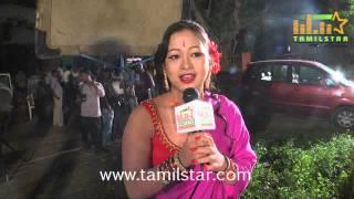 Sneha at Ayyanar Veethi Shooting Spot