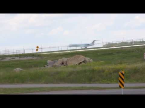 Shoutout To Cjets!!!! Air Canada Crj-700lr Super Awesome Takeoff From Yyc