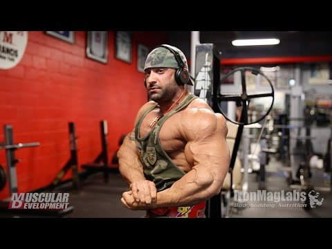 days - IFBB Pro Guy Cisternino trains shoulders just 13 days of from the 2014 Mr. Olympia. Guy gives some great tips on pushing his shoulders to the next level. He shows a great variation on the shoulder...