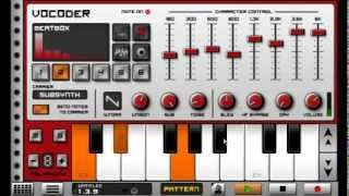 Caustic – Vocoder tutorial
