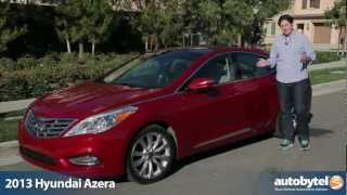 2013 Hyundai Azera Test Drive&Full Size Sedan Car Video Review