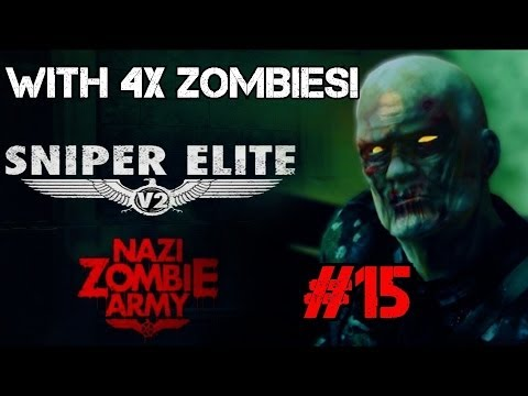 Nazi Zombie Army with x4 Zombies! – Defeat the Occult General! (Part 15)