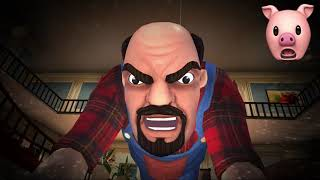 SCARY STRANGER 3D.. | Fan Choice FRIGHTday (Is He Hello Neighbor?)