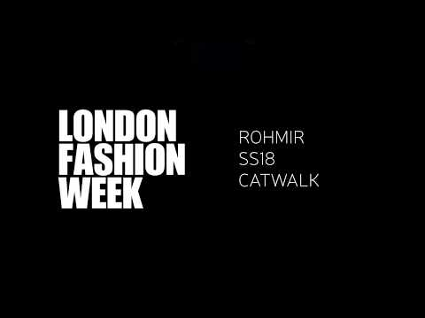 ROHMIR SS18 CATWALK at London Fashion Week