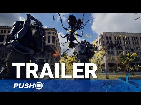 Earth Defense Force: Iron Rain PS4 Reveal Trailer | PlayStation 4 | TGS 2017