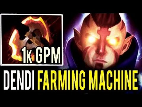 NaVi Dendi Dota 2 [AntiMage] Farming Machine 1000 GPM