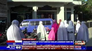 Jamaah Tarekat Syattariyah di Padang Lebaran Hari Ini