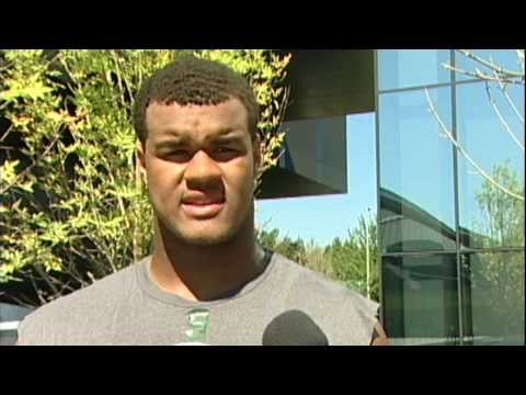 Arik Armstead Interview 9/11/2013 video.