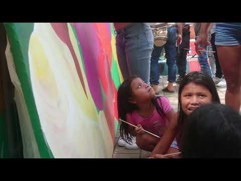 Mural Comunitario en Dabeiba: Anne Stickel Warner Benitez