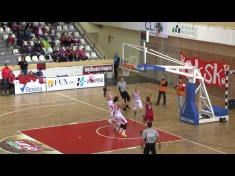 Női kosárlabda NB I. A-csoport 10. forduló.  Aluinvent DVTK  - Vasas Akadémia