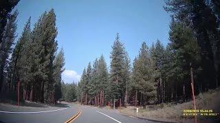 Scenic California Episode 2: Mammoth Scenic Drive (Timelapse)
