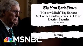 'Moscow Mitch' McConnell 'Fuming' With Trolling | The Beat With Ari Melber | MSNBC