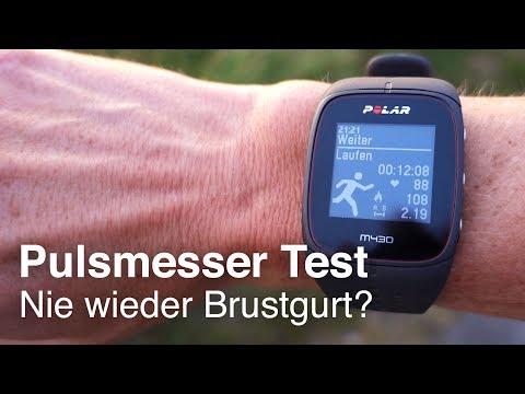 Polar M430 Pulsuhr: Wird der Puls korrekt gemessen? Test optischer Herzfrequenzsensor / Pulsmesser